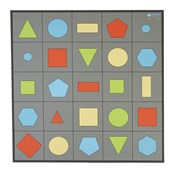EaRL 2D Shapes Mat from Hope Education