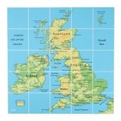 EaRL UK Map Mat from Hope Education