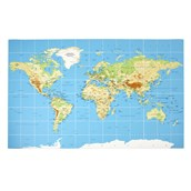 EaRL World Map Mat from Hope Education