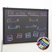Glow Writer Panel (50 x 70cm) from Hope Education