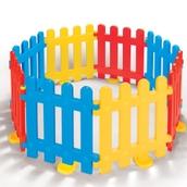 Outdoor/Indoor Play Fence - 8 Piece Set