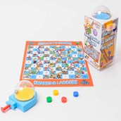 Mini Snakes & Ladders Dice Game