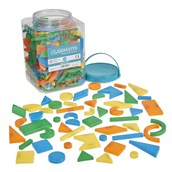 Magnetic Shapes - Pack of 286