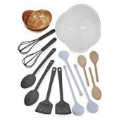 Essential Messy Play Utensils Set from Hope Education