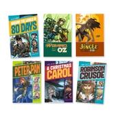 Graphic Adventure Novels Set 2 - Pack of 6