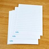 Raised Line Paper