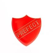 Prefect Shield Badge - Red