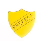 Prefect Shield Badge - Yellow