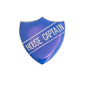 House Captain Shield Badge - Navy Blue