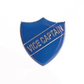 Vice Captain Shield Badge -  Navy Blue