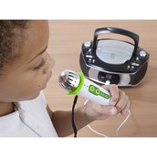 Group Listener CD Player, 6 Headphones and 1 Microphone from Hope Education