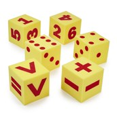 Number and Operation Foam Dice
