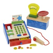Wooden Weighing Scales