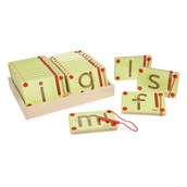 Magnetic Letter Formation Mazes -  Lowercase