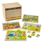 Jigsaw Set with Storage - 24 Piece