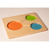 Wooden Part-Part-Whole Tray
