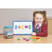 Magnetic Numbers and Operations - Pack of 296