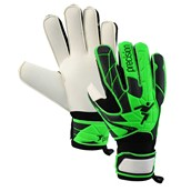 Precision Fusion X.3D Goalkeeping Gloves - Black/Green - Size 6 - Pair