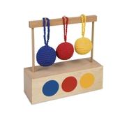 Nienhuis Montessori Imbucare Box With 3 Coloured Knit Balls