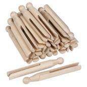 Nienhuis Montessori Wooden Cloth Pegs - Pack of 25