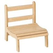 Nienhuis Montessori Slatted Chair: Low