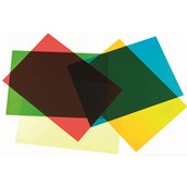 Coloured Acetate - Pack of 5