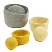 Felt Bowls and Balls from Hope Education