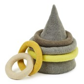Natural Felt Quoits from Hope Education