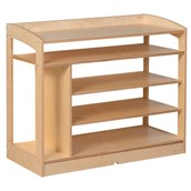 Nienhuis Montessori Sensorial Cabinet - Open Back