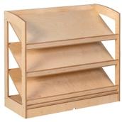 Nienhuis Montessori Book Shelf - Open Back