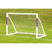 Samba Locking Trainer Goal - White - 6 x 4ft