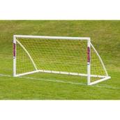 Samba Locking Trainer Goal - White - 8 x 4ft