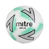 Mitre Impel Lite Football - White/Green - Size 5 (360g)