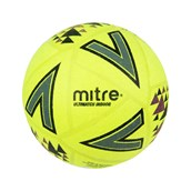 Mitre Ultimatch Indoor Football - Yellow/Black - Size 4