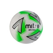 Mitre Impel Futsal Football - White/Green - Size 4
