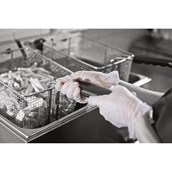 Clear Powder Free Disposable Gloves - XL - pack of 100