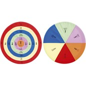 Hula Hoop Target Set - Multi - Pack of 2