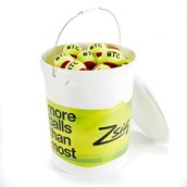 Zsig SLOcoach Big Tennis Ball - Red Stage  - Pack of 72