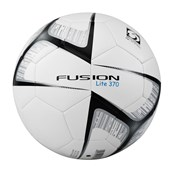 Precision Fusion Lite Football - White/Black - Size 5 (370g)
