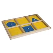Nienhuis Montessori The Geometric Demonstration Tray