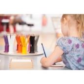 Nienhuis Montessori Set of 12 3-sided inset pencils in 11 colours