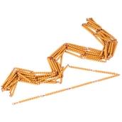 Nienhuis Montessori Golden Bead Chain Of 1000: Individual Beads Nylon