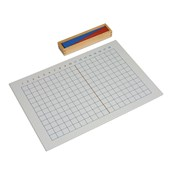 Nienhuis Montessori Addition Strip Board