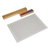 Nienhuis Montessori Subtraction Strip Board