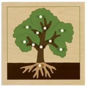 Nienhuis Montessori Botany Puzzle: Tree