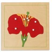 Nienhuis Montessori Botany Puzzle: Flower