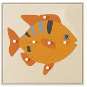 Nienhuis Montessori Animal Puzzle: Fish