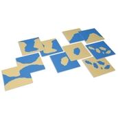Nienhuis Montessori Land Form Cards
