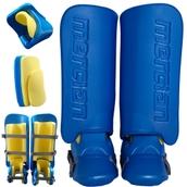 Mercian Hockey Goalkeepers Kit - Blue/Green - Maxi(11-13 years)