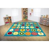 Large Fruit Placement Carpet – Classmates